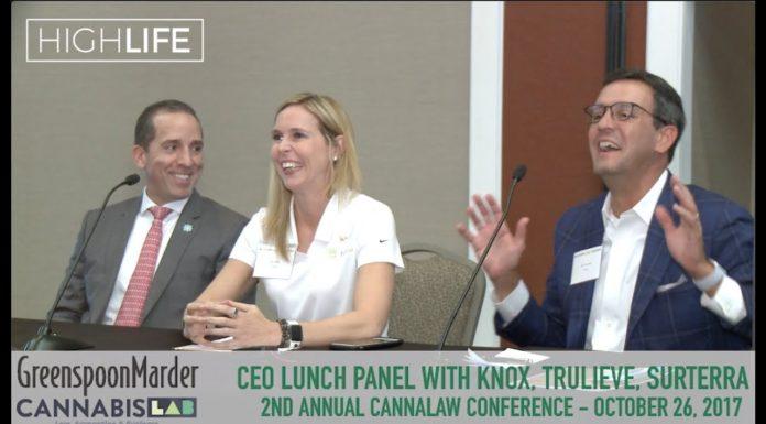 CEO Lunch Panel   Knox   Trulieve   Surterra Wellness