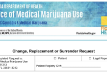 How to change or replace a Florida medical marijuana card