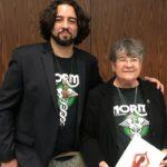 Karen Seeb Goldstein and Will Medina