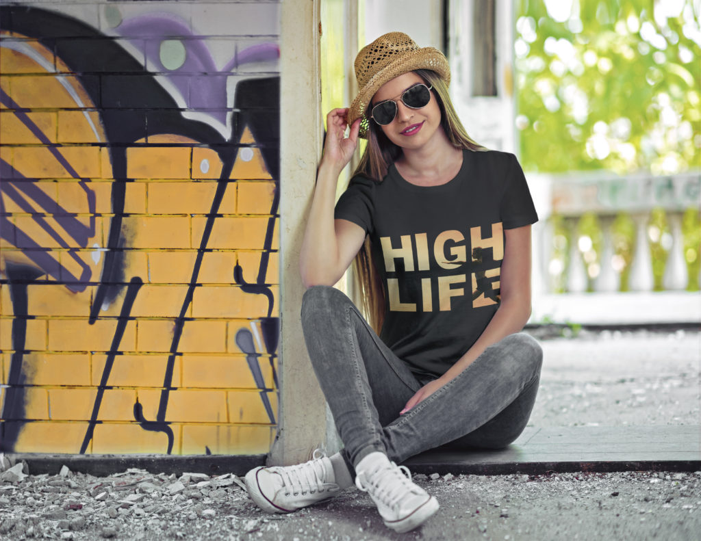 High Life Clothing | Yoga T-Shirt