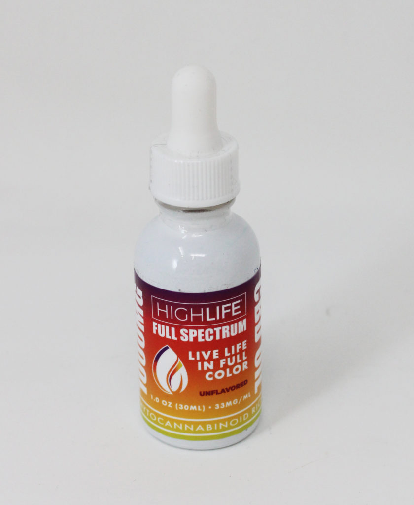 HIGHLIFE Magazine - HIGHLIFE Full Spectrum Hemp CBD Extract