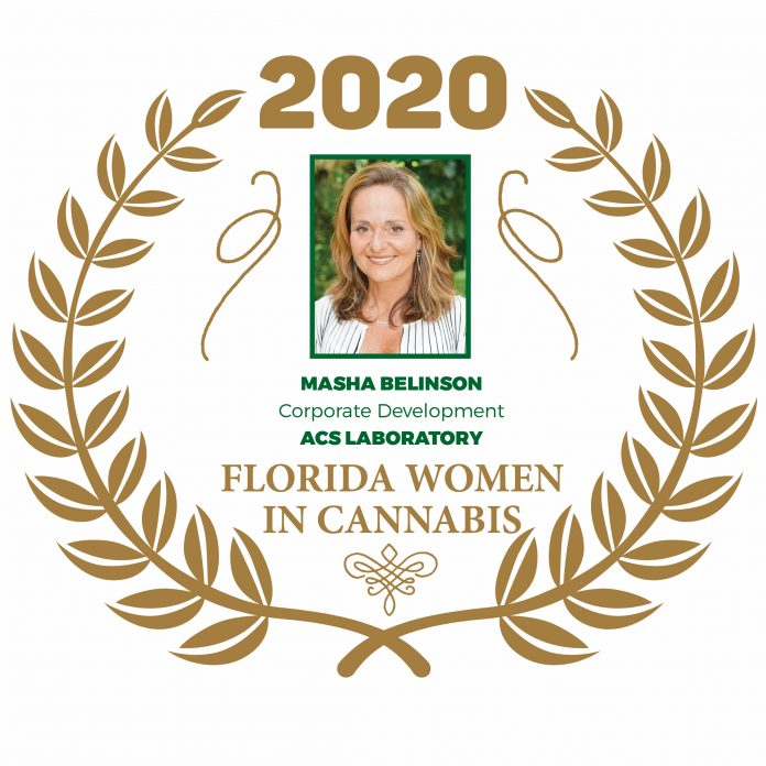 Masha Belinson - Florida Women In Cannabis 2020