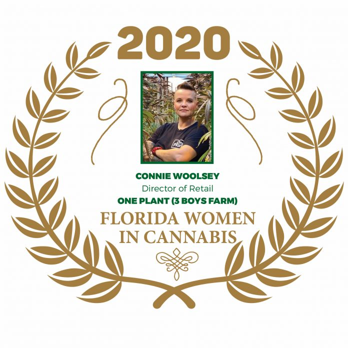 Connie Woolsey Florida Women In Cannabis 2020