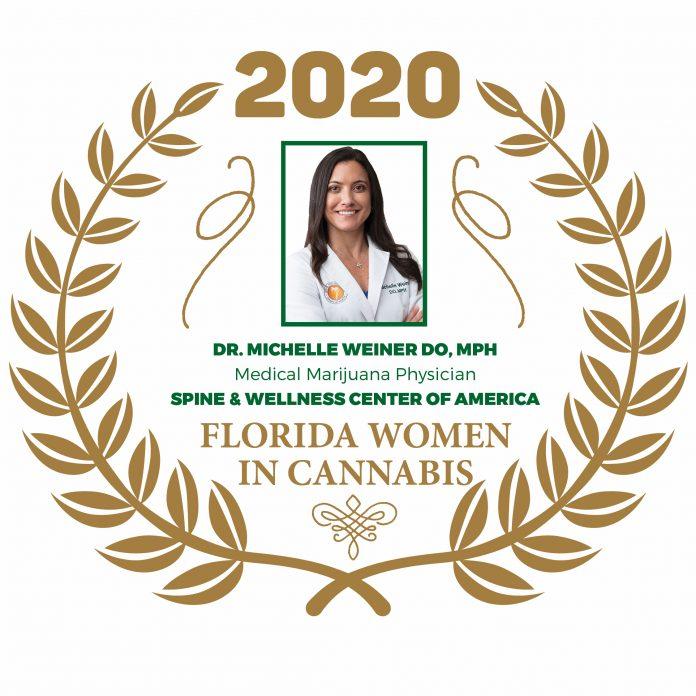 Dr. Michelle Weiner DO, MPH - Florida Women In Cannabis 2020