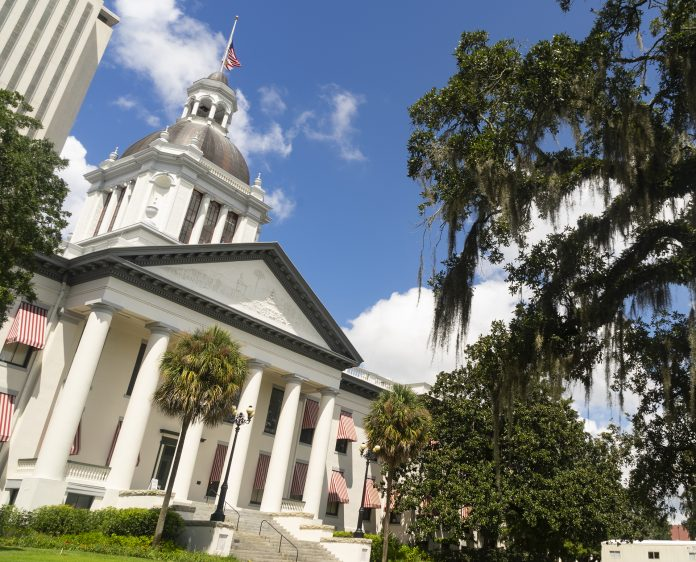 the-florida-statehouse-with-blue-skies